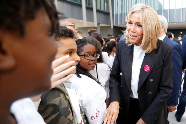 Brigitte Macron, le 14 octobre 2019, à Paris.