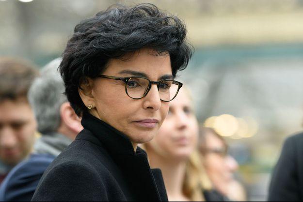 Rachida Dati,ici en février dernier lors de la campagne municipale.