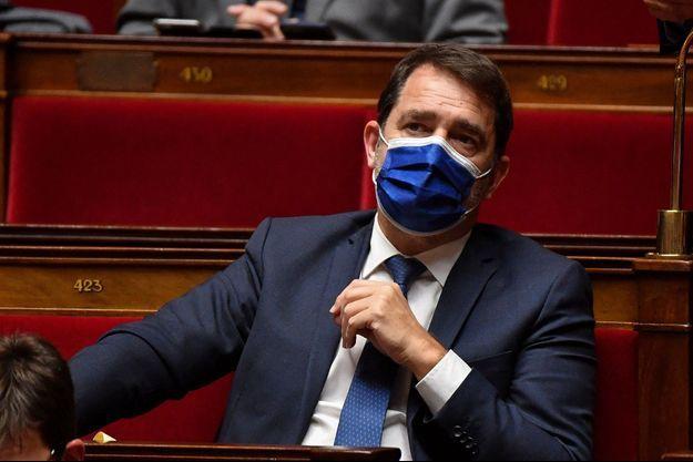 Christophe Castaner en janvier à l'Assemblée nationale.