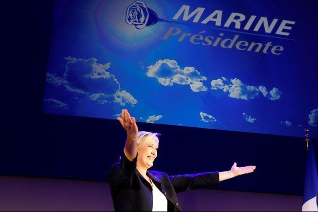 Marine Le Pen est qualifiée pour le second tour de la présidentielle.