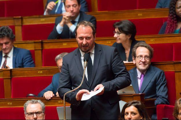 Christophe Arend à l'Assemblée nationale, en juin 2018.