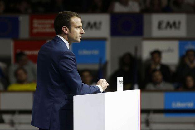 Emmanuel Macron à Lyon, le 5 février.