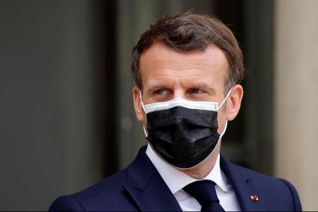 Emmanuel Macron le 9 avril 2021.