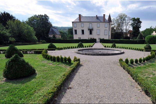Le château de Varvasse, ici en septembre 2012.