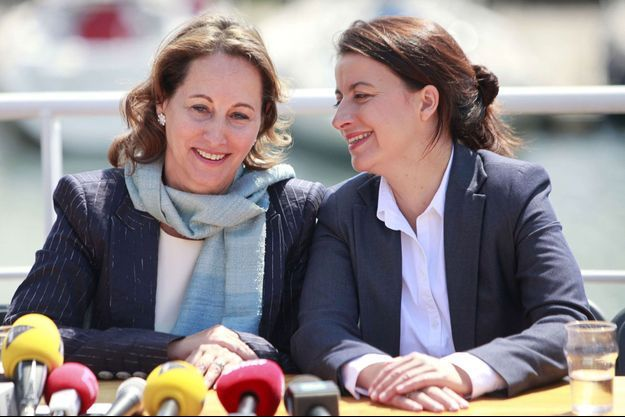En juin 2012, à La Rochelle, les sourires étaient de mise entre Ségolène Royal et Cécile Duflot.