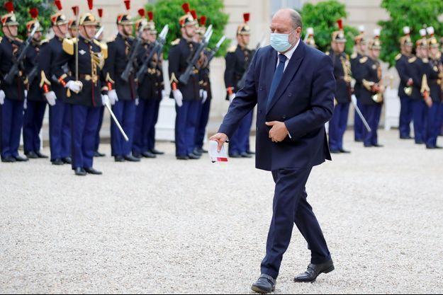 Eric Dupond-Moretti à l'Elysée le 5 juillet.