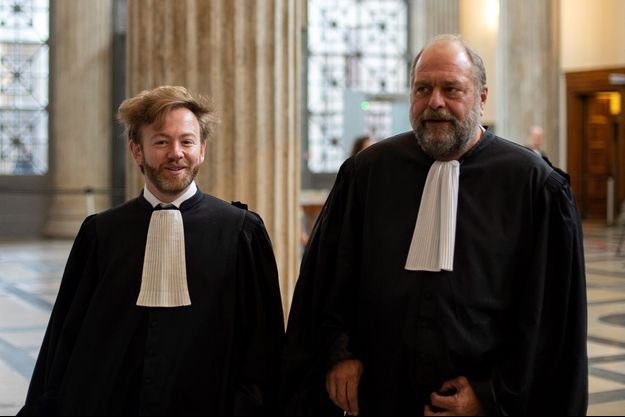 Antoine Vey et Eric Dupond-Moretti