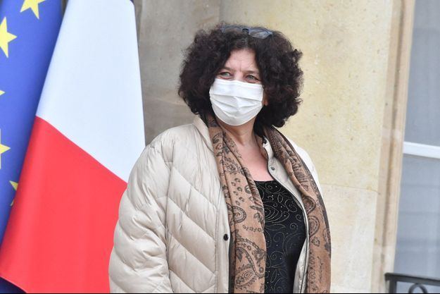 la ministre de l'Enseignement supérieur, Frédérique Vidal,à l'Elsyée mercredi.