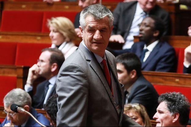 Jean Lassalle mardi à l'Assemblée nationale.