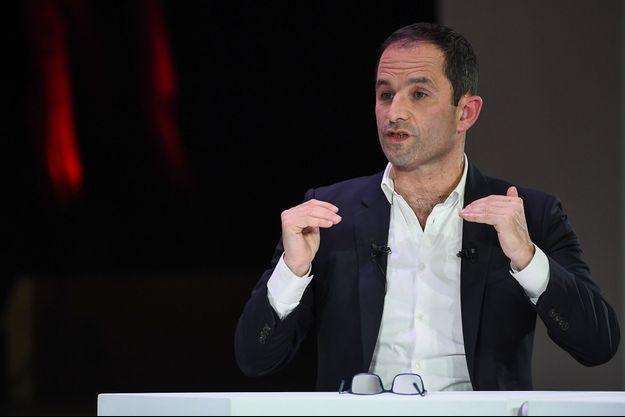 Benoît Hamon à Paris le 11 avril.
