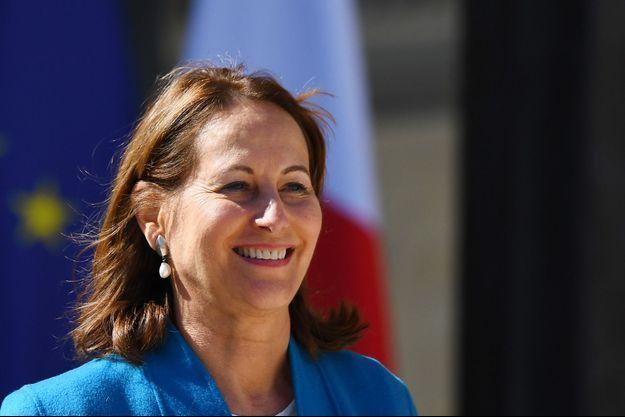 Ségolène Royal ici à Paris en avril 2017.