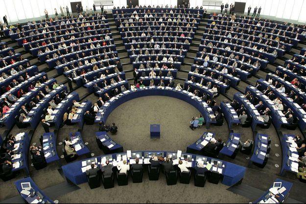 Le Parlement européen, à Strasbourg. Les élections auront lieu le 25 mai prochain en France.