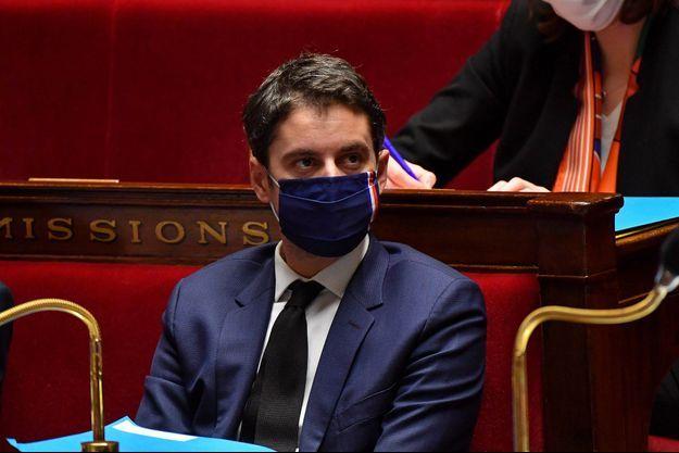 Gabriel Attal ici le 2 février à l'Assemblée nationale.
