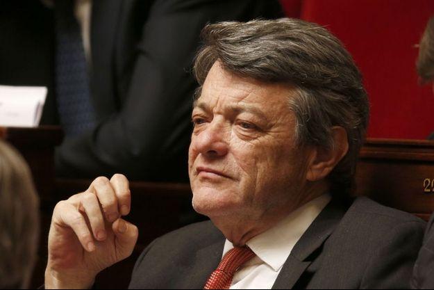 Jean-Louis Borloo à l'Assemblée nationale, en avril dernier.
