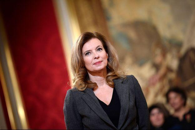 Valérie Trierweiler à l'Elysée, le 30 novembre 2013.