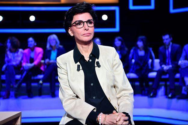Rachida Dati ici le 10 mars lors d'un débat en vue des municipales.