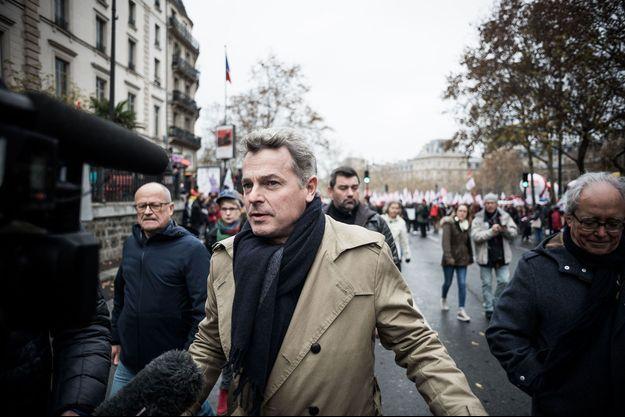 Fabien Roussel à Paris le 1er décembre dernier.