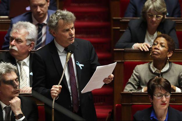 Fabien Roussel à l'Assemblée nationale, le 3 avril dernier.