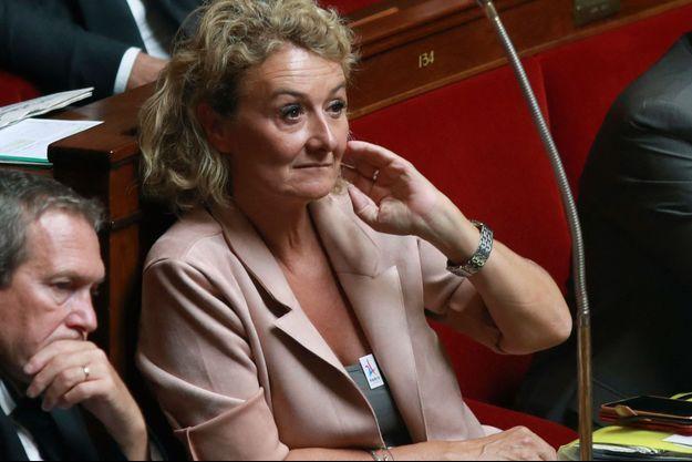 Sophie Auconie, ici à l'Assemblée nationale en août 2018.