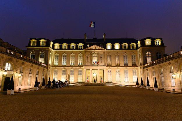 Le palais de l'Elysée, le 5 mars dernier.