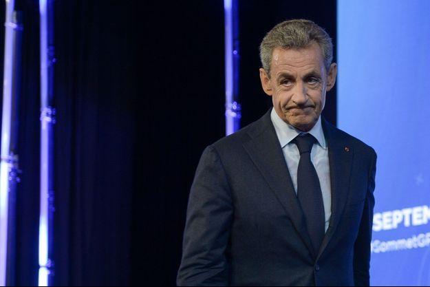 Nicolas Sarkozy en décembre 2020.