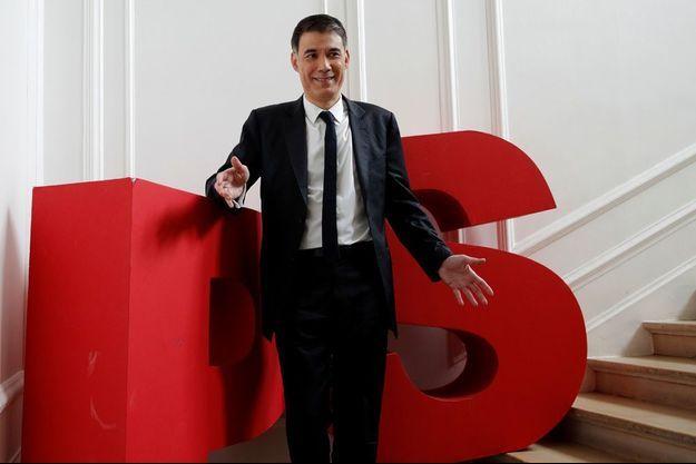 Olivier Faure, ici au siège du PS en mars dernier.
