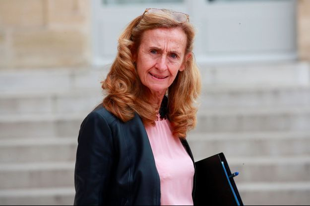 Nicole Belloubet à l'Elysée en octobre 2018.