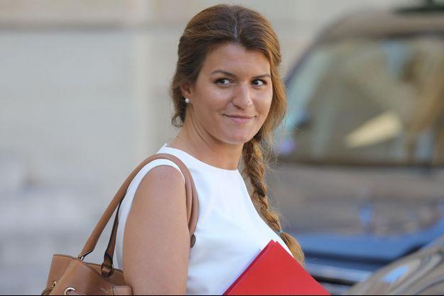 Marlène Schiappa, la semaine dernière à l'Elysée.