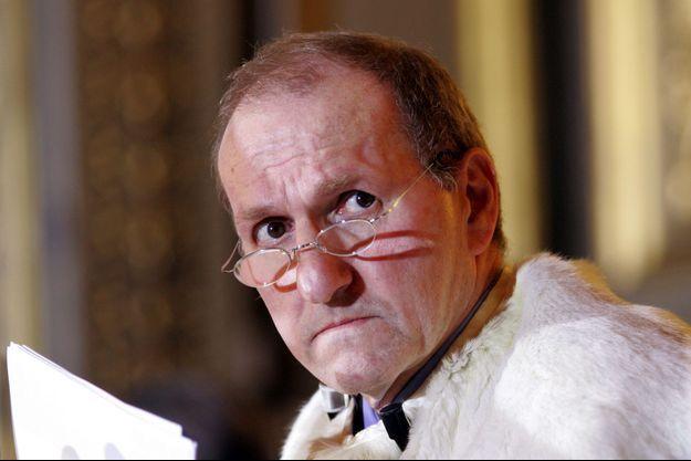 L'ancien membre du Conseil constitutionnel Guy Canivet , ici en janvier 2005.