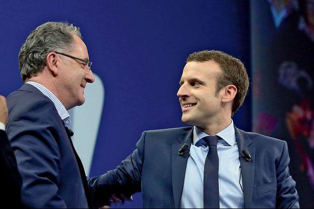 ferrand Macron