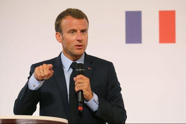 Emmanuel Macron, le 22 mai 2018.