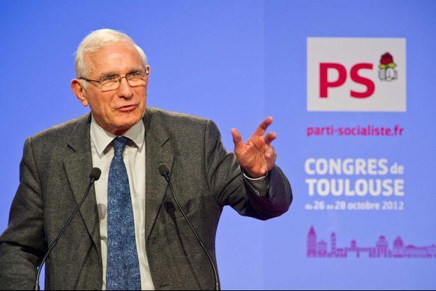 Paul Quilès ici au Congrès du PS en 2012.