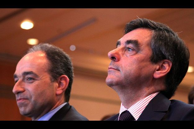 Jean-François Copé et François Fillon.