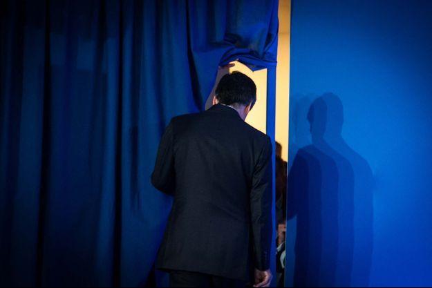 François Fillon dimanche soir après la défaite au premier tour de la présidentielle.