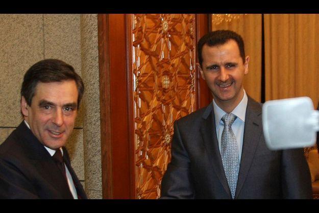 Samedi 20 février, Damas, Syrie. François Fillon rencontre pour la première fois Bachar el-Assad. Malgré des divergences de fond, le ton est resté cordial.