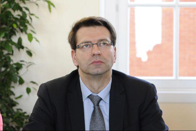 Le maire de Dunkerque, Patrice Vergriete, ici en 2014.