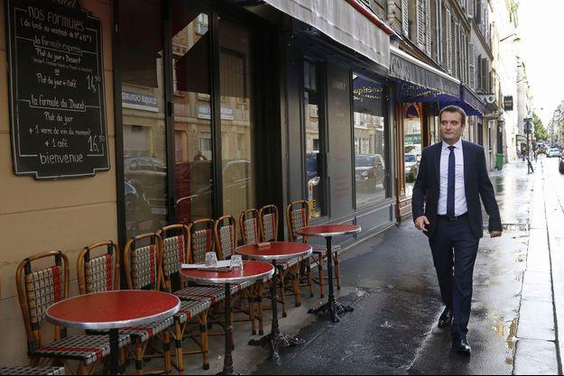 Florian Philippot à Paris en septembre 2015.