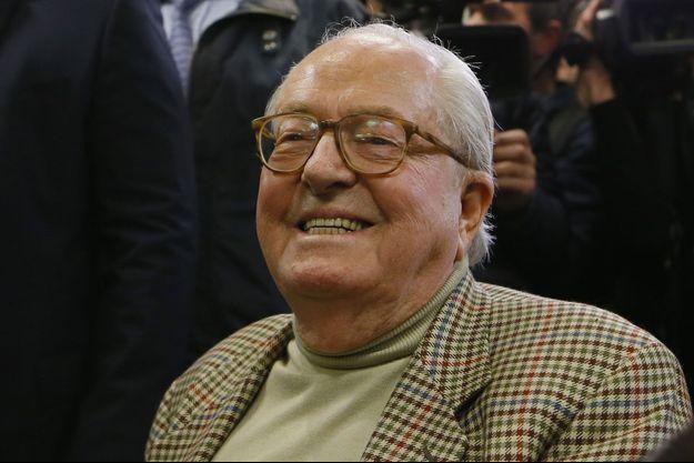 Jean-Marie Le Pen, le 22 mars dernier.