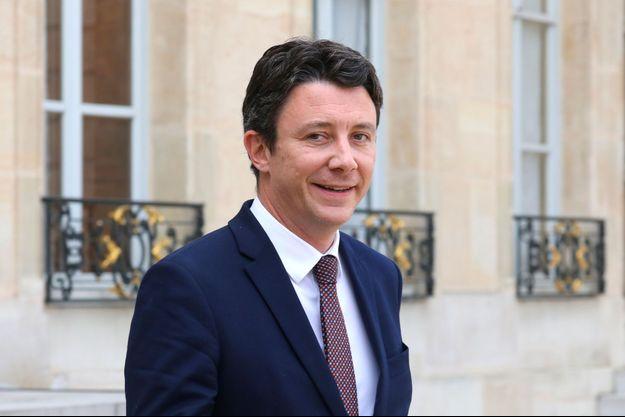 Benjamin Griveaux à l'Elysée en avril dernier.