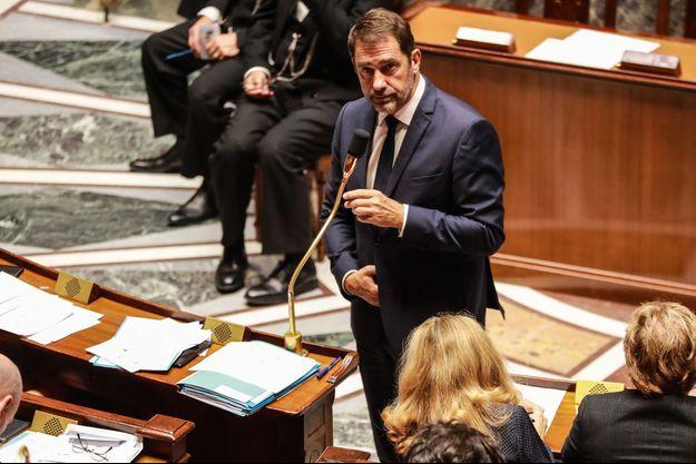 Le ministre de l'Intérieur à l'Assemblée mardi.