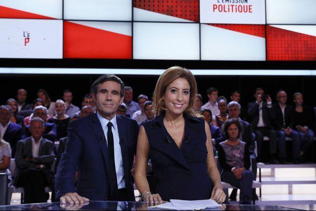 David Pujadas et Léa Salamé vont réaliser jeudi des interviews individuelles des candidats de quinze minutes.