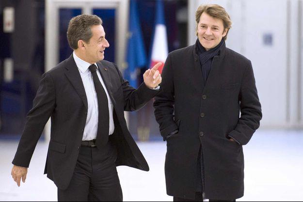Nicolas Sarkozy et François Baroin.