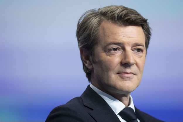 François Baroin en novembre 2019 à Paris, lors du congrès des maires.