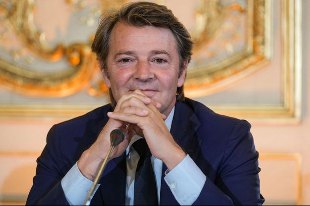 François Baroin, ici lors d'une conférence de presse au Sénat, début juillet.