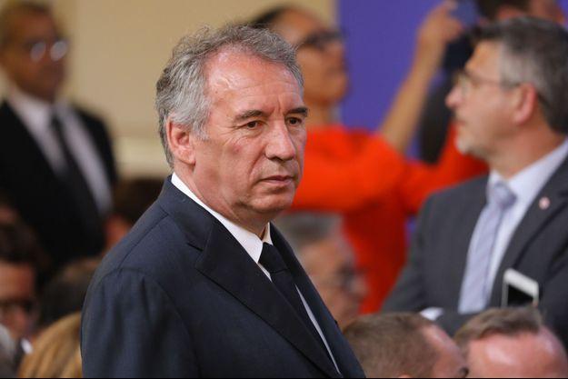 François Bayrou, à Paris en mai dernier.