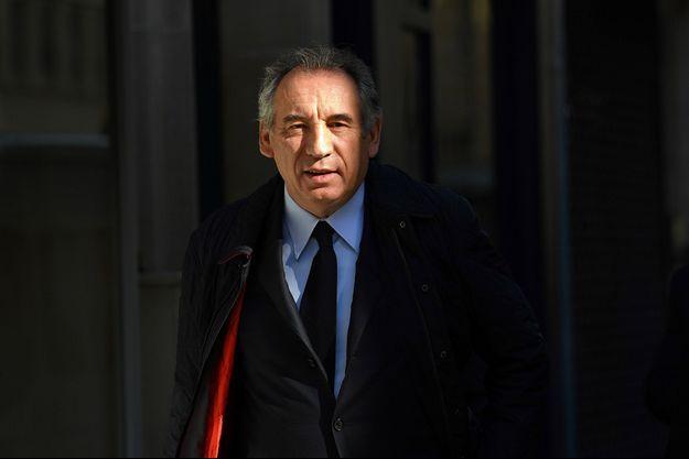 François Bayrou le 11 mai, à Paris.