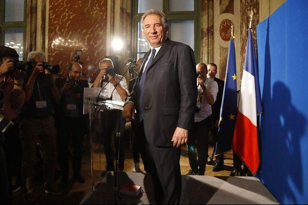 François Bayrou le 1er juin.