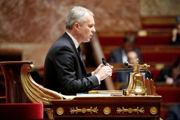 François de Rugy, président de l'Assemblé nationale.
