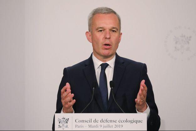 François de Rugy à Paris le 9 juillet.