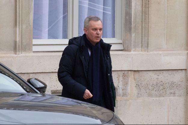François de Rugy, ici en mars à l'Elysée.